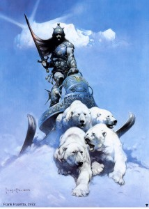 Frazetta's Silver Warrior