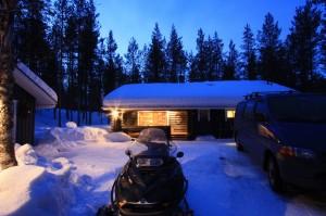 Äkäsjokisuu Mökki, Jan 2014