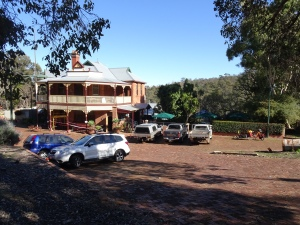 Mundaring Weir Hotel. A legendary watering hole