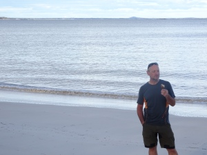 me, an icecream and the Southern Ocean