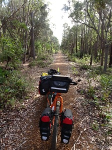 Munda Biddi to Nannup, along an old railway