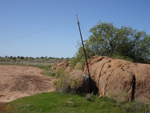 Old telegraph lines
