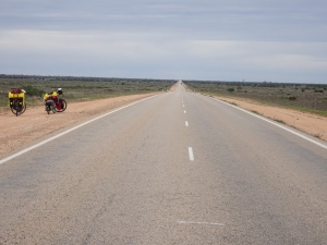 Australia's Longest Straight Stretch