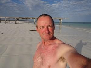 Post Southern Ocean swim Max
