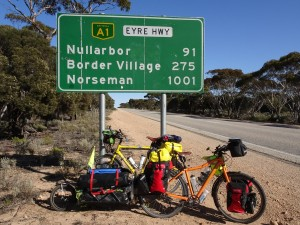 1001 km from Norseman