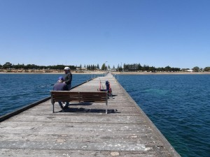 Fishing off Ceduna