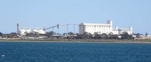 Ceduna's massive grain silos