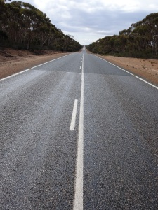 Coolgardie-Esperance Highway, looking towards Norseman