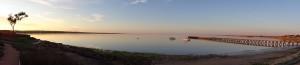 Streaky Bay sunset panorama