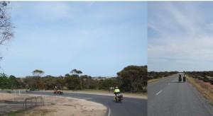 Cycle Convoy enroute Baird Bay