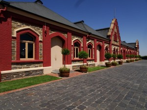 Chateau Tanunda, rear side