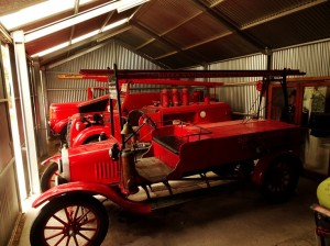 Classic fire engines