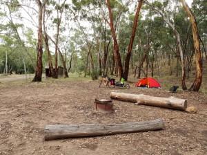 Wirrabara campsite. A nice spot