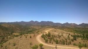 Bunyeroo Gorge access road