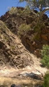 Bunyeroo Gorge cliffs