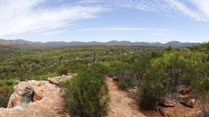 It's quite a view, inside Wilpena Pound