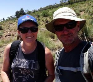 Tanya and I somewhere along Warren Gorge hike