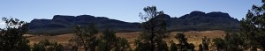 Wilpena Pound looking imposing