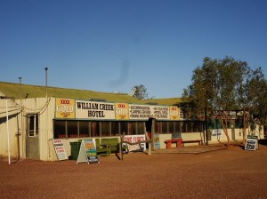 William Creek Hotel. Halfway to Oodnadatta, making good time