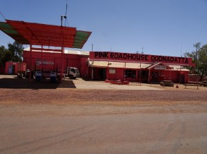 It is Pink and it is a Roadhouse and it is in Oodnadatta ...