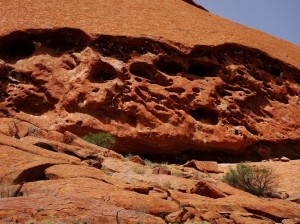 Fantastic artistry and craftwork. Ancestral Beings worked this rock