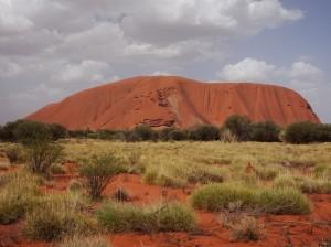Returning to Yulara Uluru remains impressive
