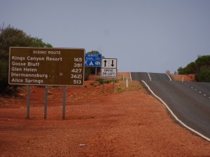 Quite a ways to Alice Springs