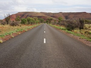 The road into Watarrka