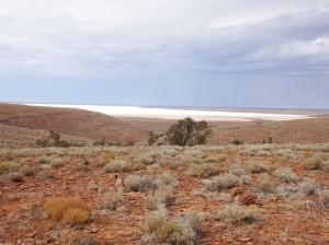 Salt lake glimpses and a harsh landscape