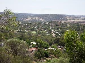 Toodyay from Pelham Reserve