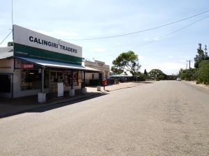 Calingiri's main street