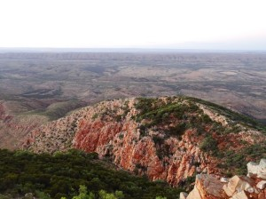 Ridges of quartzite