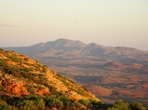 Mount Ziel, the NT's highest mountain at 1581