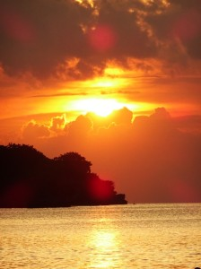 A Jimbaran sunset meal is a 'must-do'. Not hard to see why ...