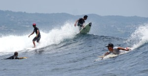 Surfing. It's what made Bali in the first place and set it on its path to what it is today. Hmmm ...
