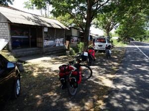 Lunch stop enroute Padang Bai