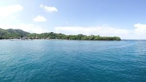 Padang Bai peninsular