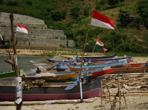 Fishing fleet, proudly Indonesian