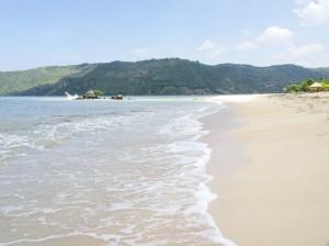 Classic tropical beach