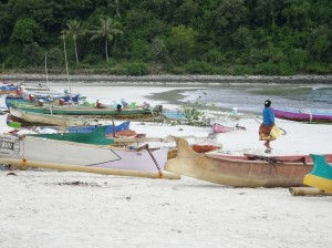 Selong Blanak, part fishing village