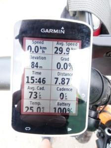 Not often I get 30 kph, even if for ~8 km