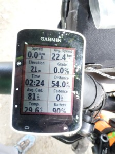 Not often I manage >22 kph for 50+ km. Not sure quite how it happened either