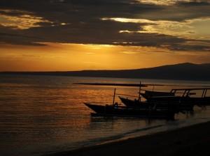 Sunrise over Rinjani