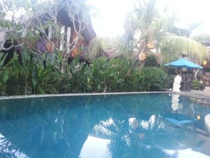 Balangan Sea View Bungalows. Ours is the one dominated the pool