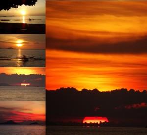 Puri Sari sunset