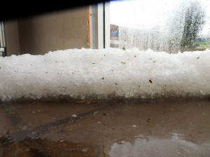 A good 10 to 20 cm deep in places