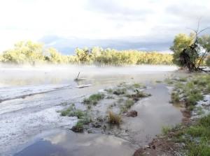 More Todd River winter scene