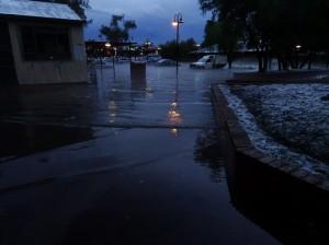 Inner city floods