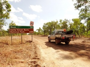 Garik Gunah Barlu National Park is our destination