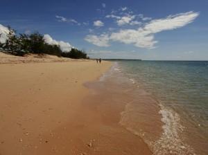 Endless empty beaches